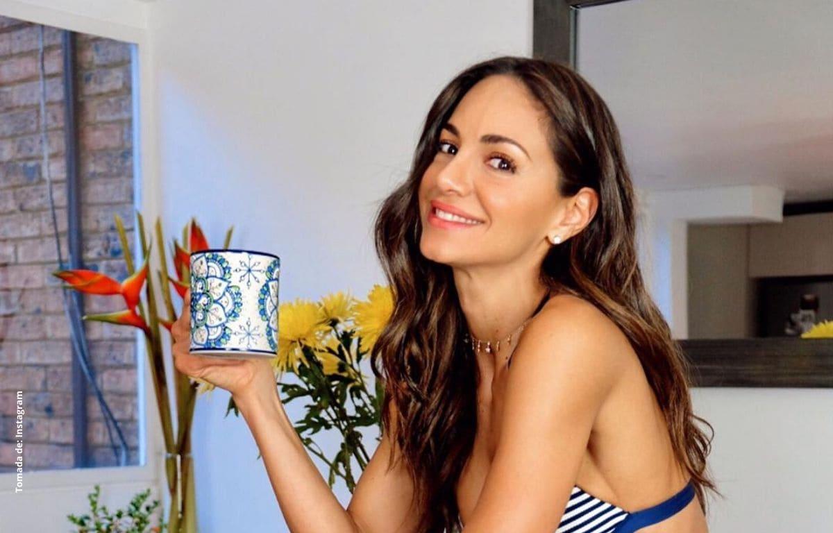 Con sexy baby doll, Valerie Domínguez pone a volar la imaginación