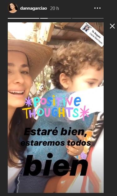 Danna García nuevamente da positivo a covid-19
