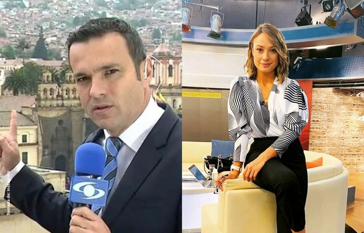 El piropo de Juan Diego Alvira a Mónica Jaramillo en el noticiero