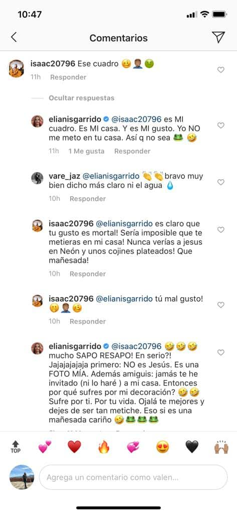 """Elianis Garrido se """"agarra"""" con un hombre por decoración de su casa"""