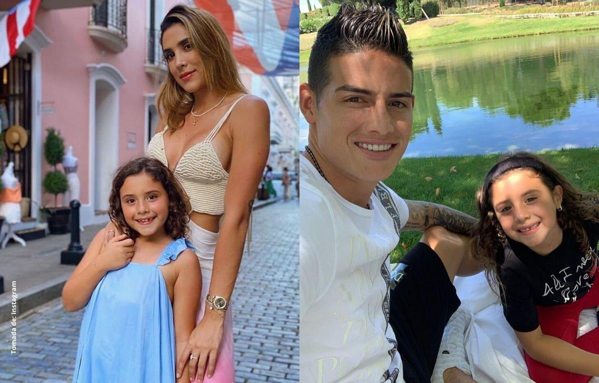 Hija de Daniela Ospina y James Rodríguez sorprende bailando