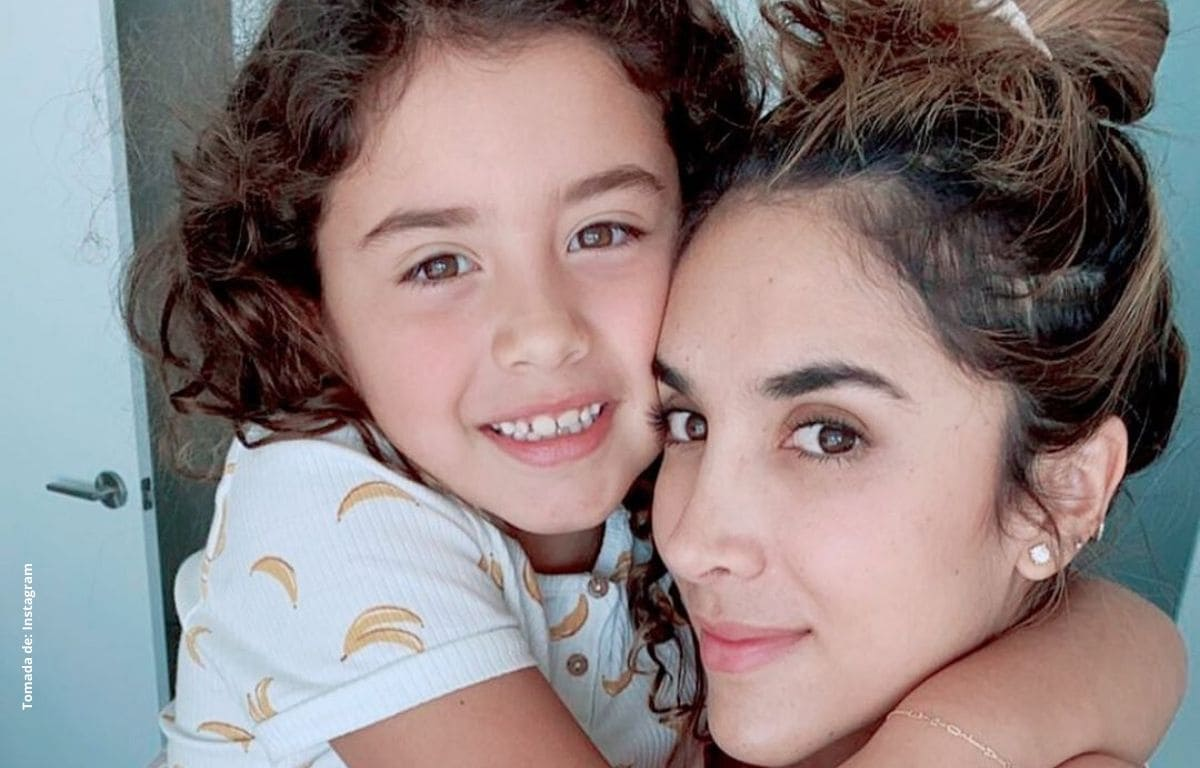 Hija de Daniela Ospina y James Rodríguez sorprende hablando inglés