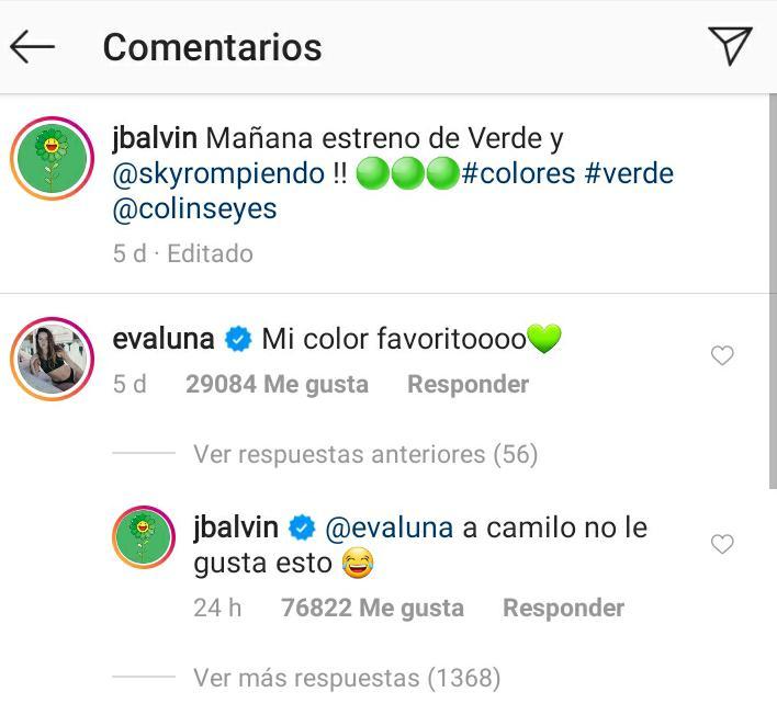 J Balvin pone en aprietos a Evaluna con Camilo por un comentario
