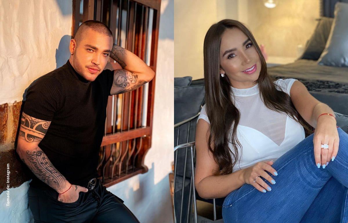 Jessi Uribe no aguantó y corrió a pasar la cuarentena con Paola Jara