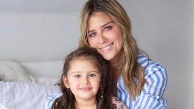 La graciosa aparición de hija de Andrea Guerrero en plena transmisión