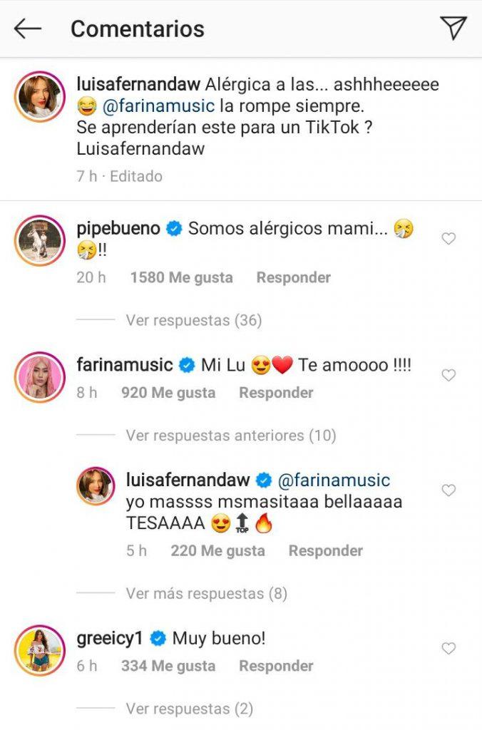 Luisa Fernanda W sorprende al rapear tema de Farina