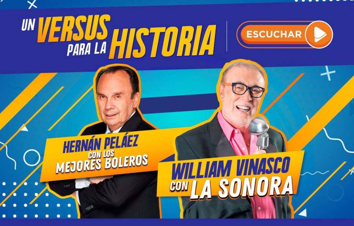William Vinasco y Hernán Peláez, un versus para la historia