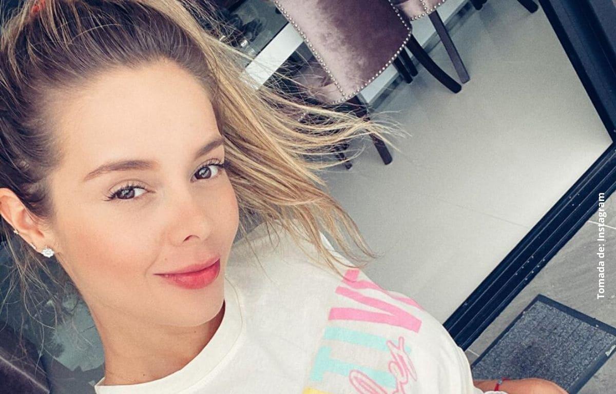 Alejandra Buitrago encendió las redes con coqueta foto