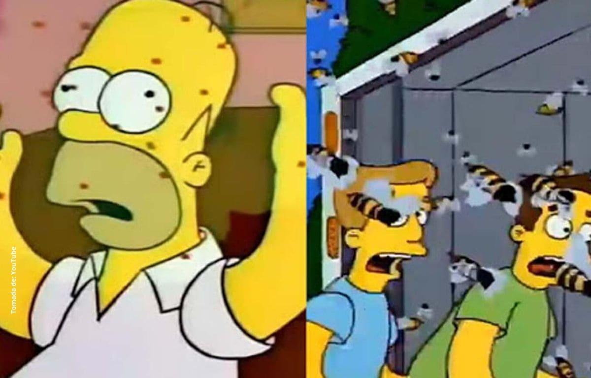 ¡Lo hicieron de nuevo! Los Simpson predijeron los avispones asesinos