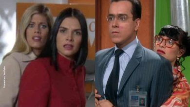 ¿Lorna y Natalia le hacían el feo a Jorge Enrique en set de Betty?