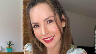 Carmen Villalobos posó de espaldas y su cola se llevó muchos piropos
