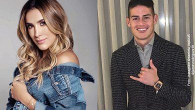 Daniela Ospina cuenta cómo se lleva con James Rodríguez