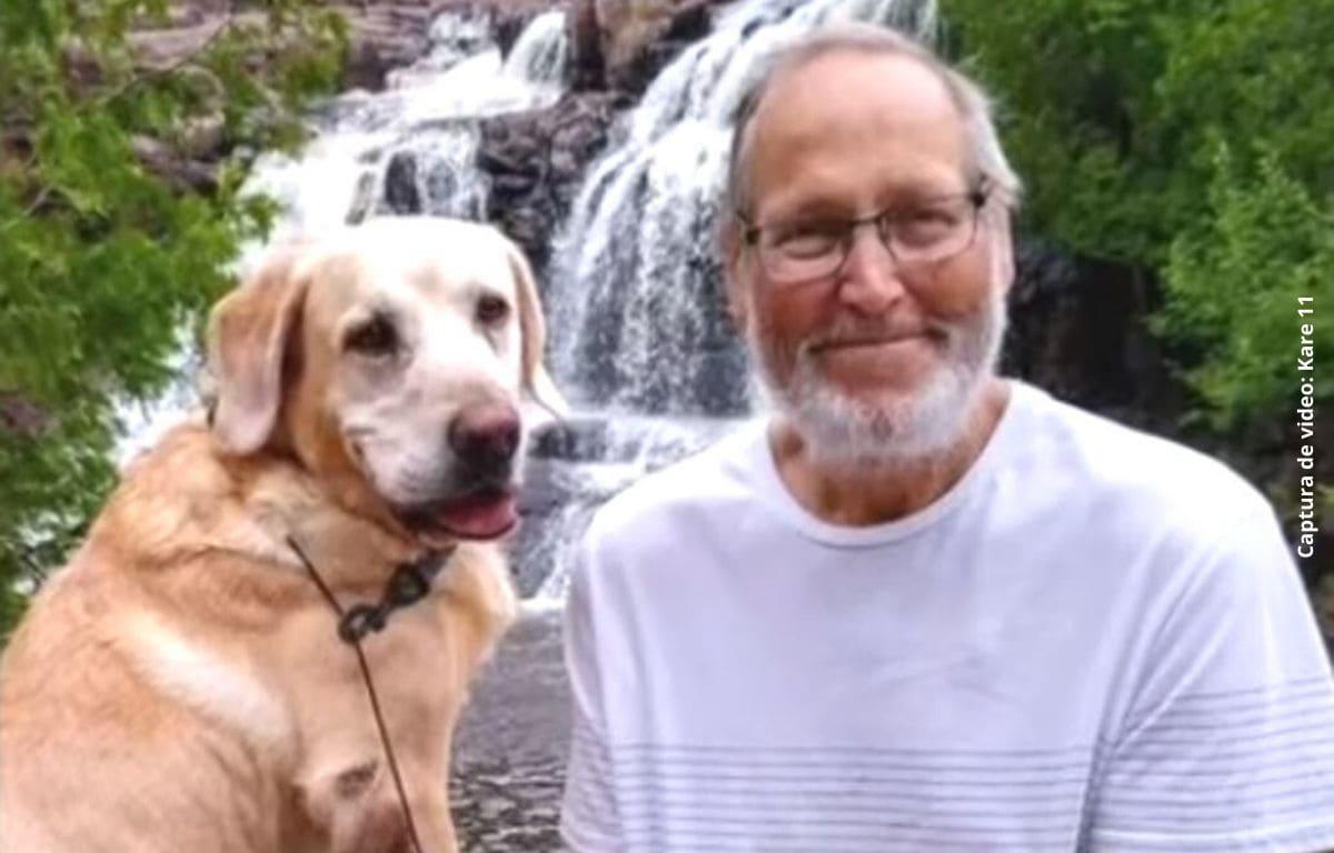 Inseparables: hombre y su fiel perro mueren el mismo día
