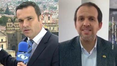 Juan Diego Alvira reta al ministro del Deporte en vivo