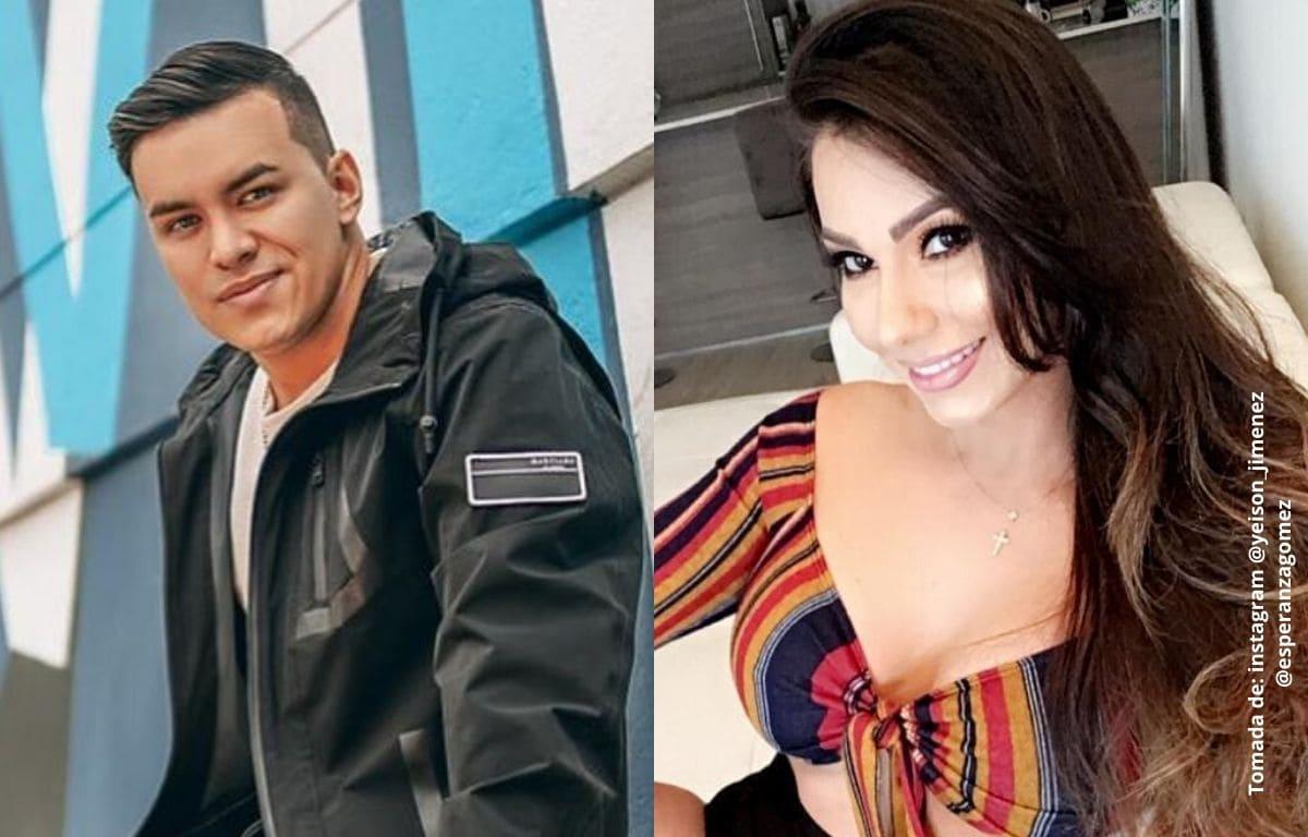 La jocosa conversación entre Yeison Jiménez y Esperanza Gómez