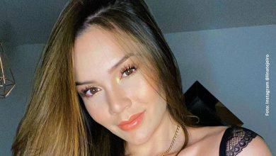 Lina Tejeiro cautivó en redes con atrevida pijama de seda
