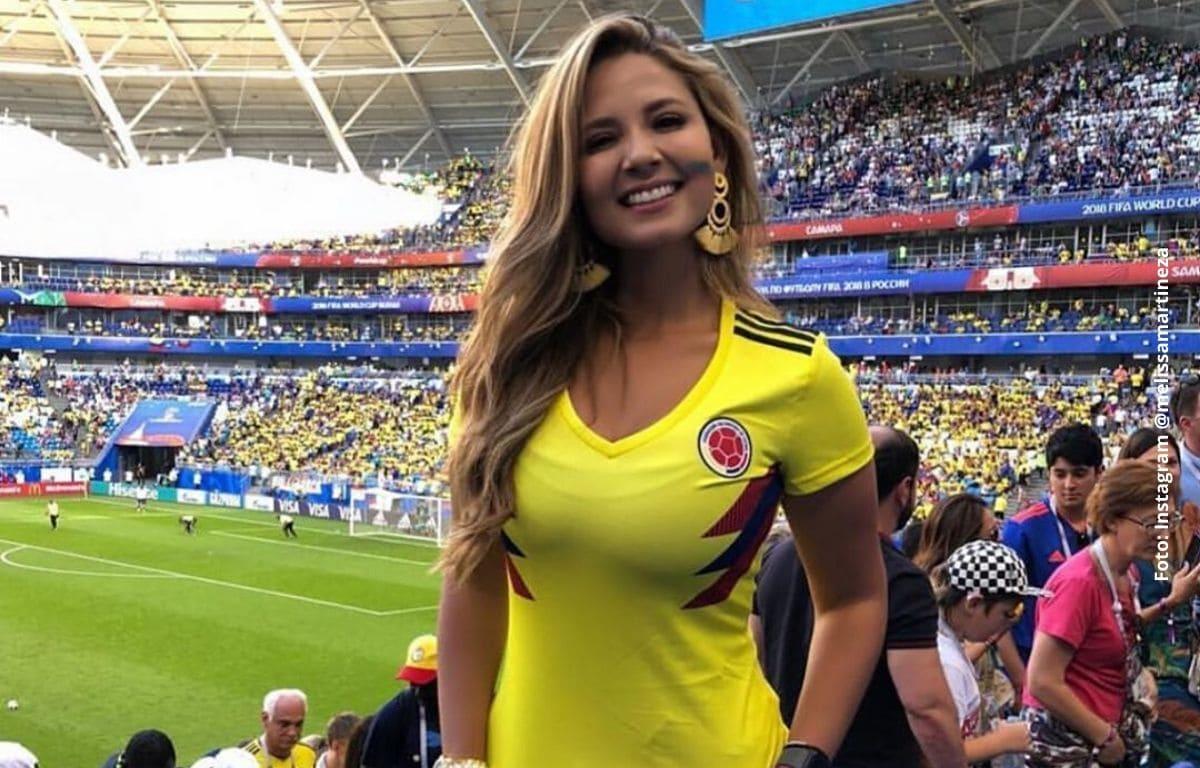 Melissa Martínez era muy robusta antes de ser famosa