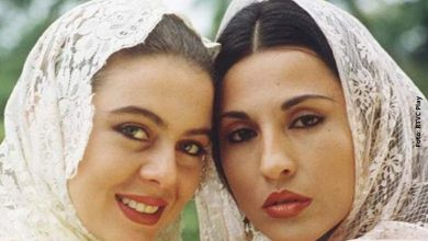 Reviven beso entre Amparo Grisales y Margarita Rosa de Francisco