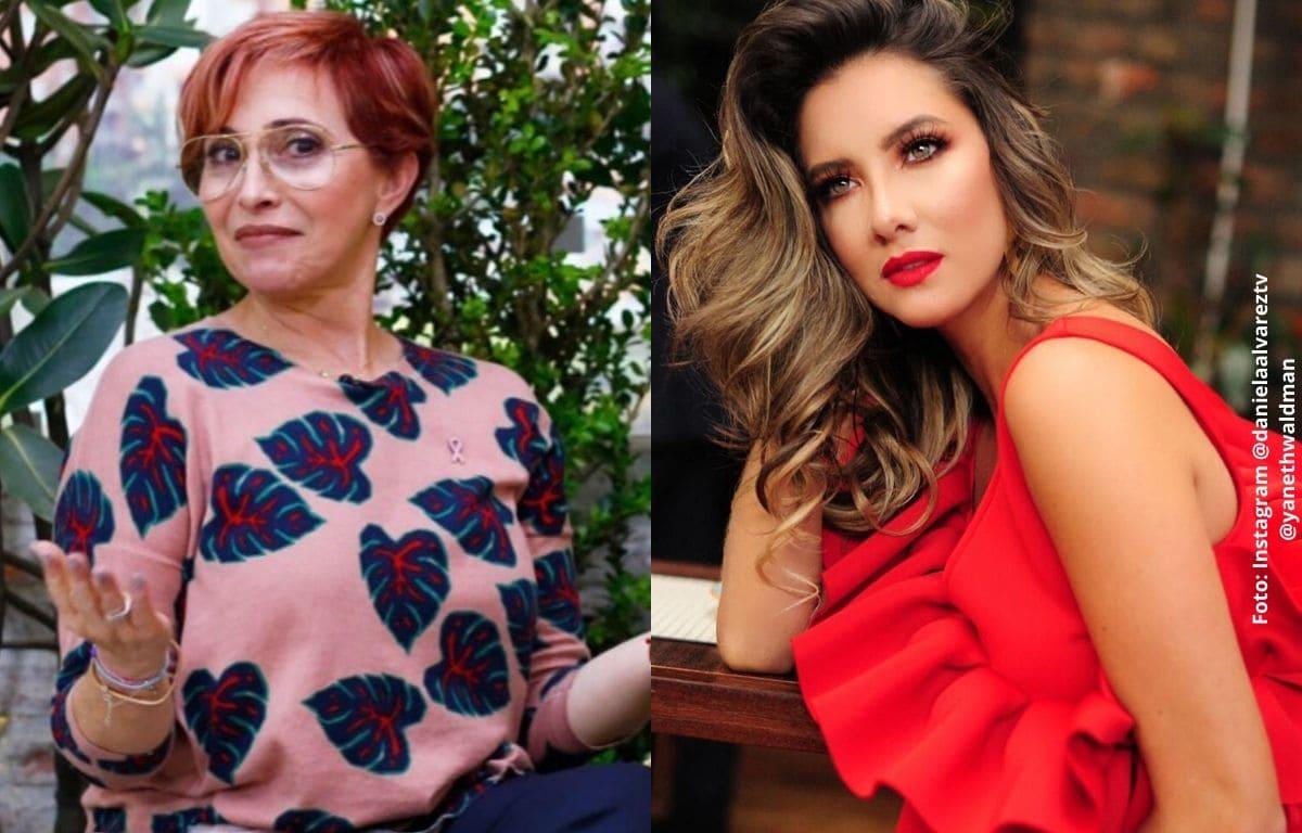 Yaneth Waldman se despachó contra hombre que ofendió a Daniella Álvarez