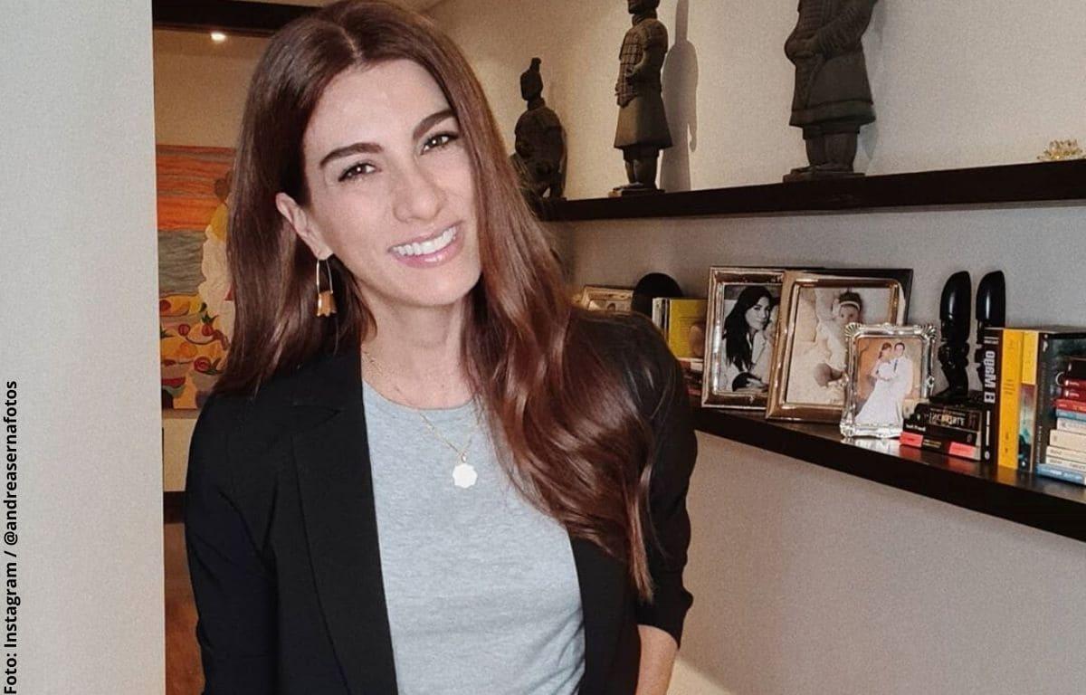 Andrea Serna lució su figura con sexy body