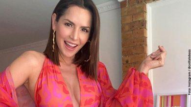 Carmen Villalobos enamoró con sutiles movimientos en bikini