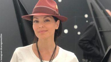 Carolina Gómez impactó al mostrar su colar al natural