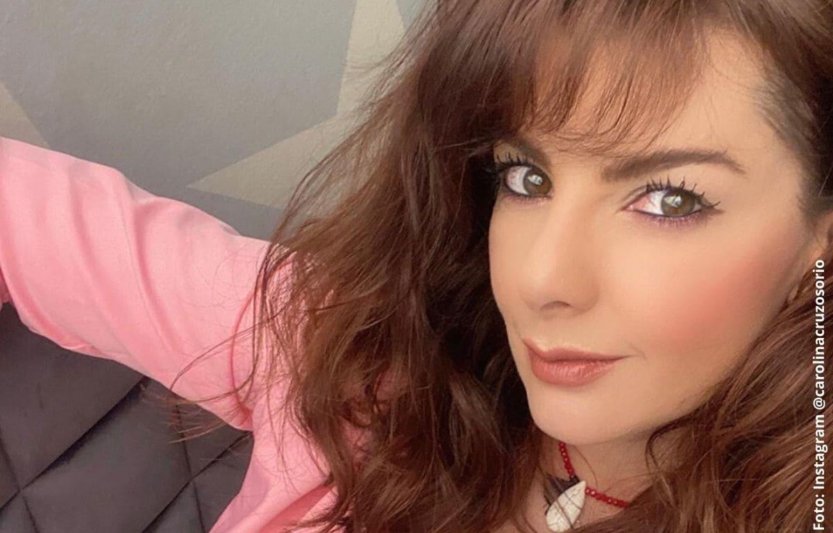 El desnudo de Carolina Cruz que encendió las redes sociales
