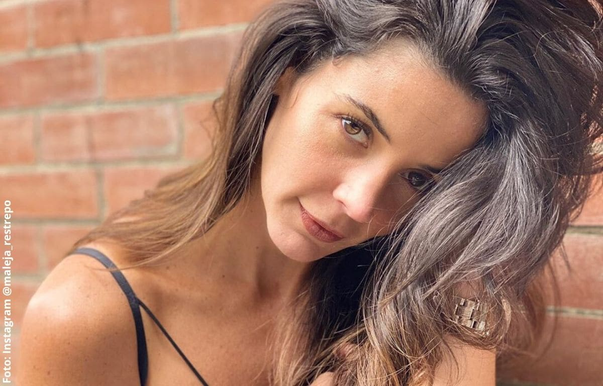 ¡Hermosa! Maleja Restrepo enamoró con foto de cuando era niña