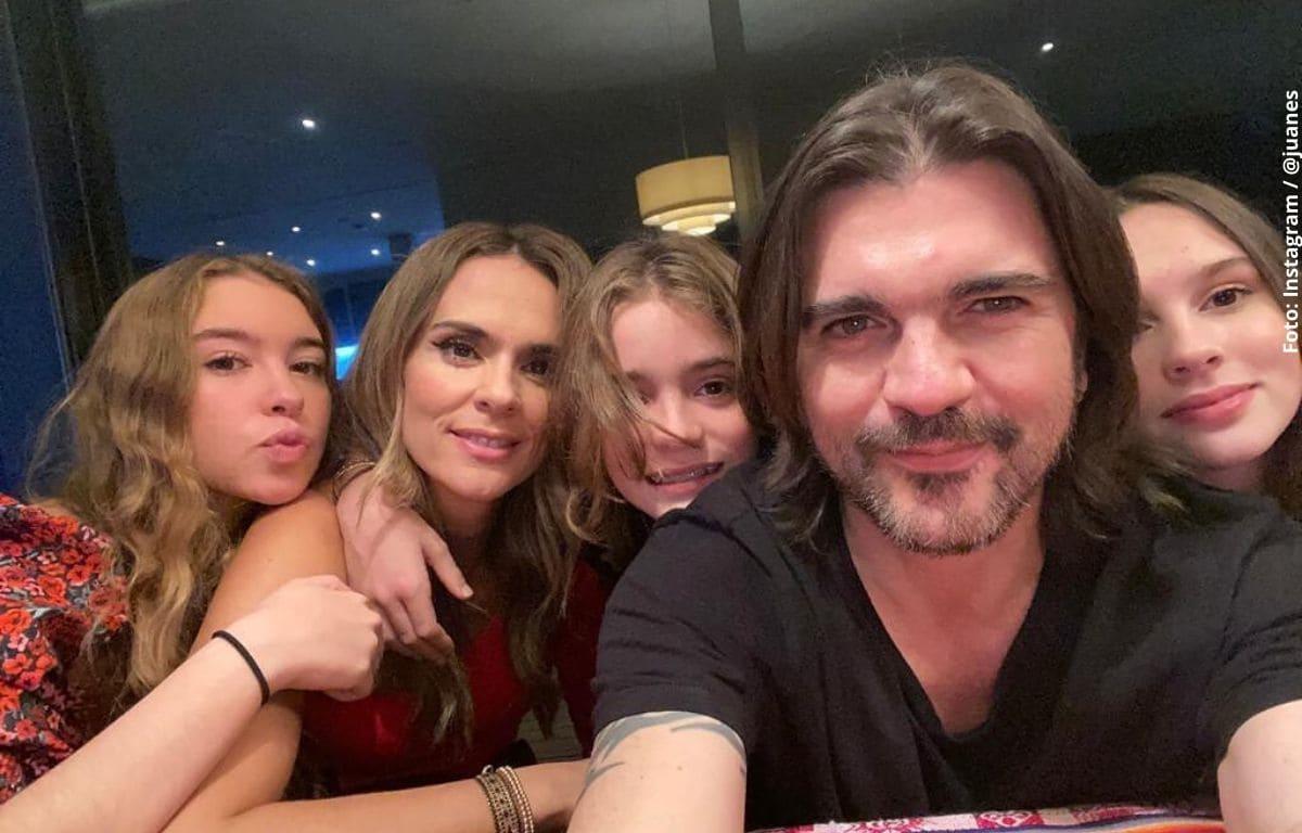 Hija de Juanes alardeó con su figura en bikini