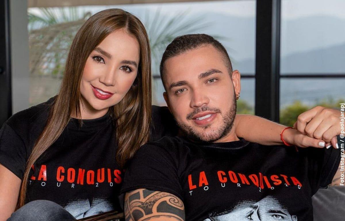 """Jessi Uribe deja """"posesivo"""" comentario en foto de Paola Jara"""