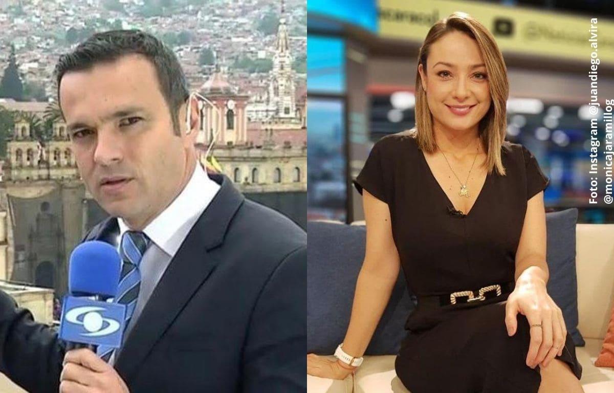 Juan Diego Alvira piropeó a Mónica Jaramillo en vivo