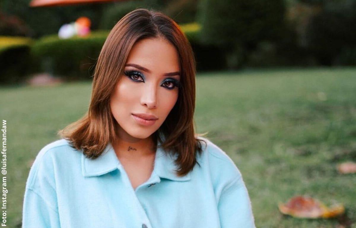 Luisa Fernanda W dice no a la ropa de maternidad con sexy pijama