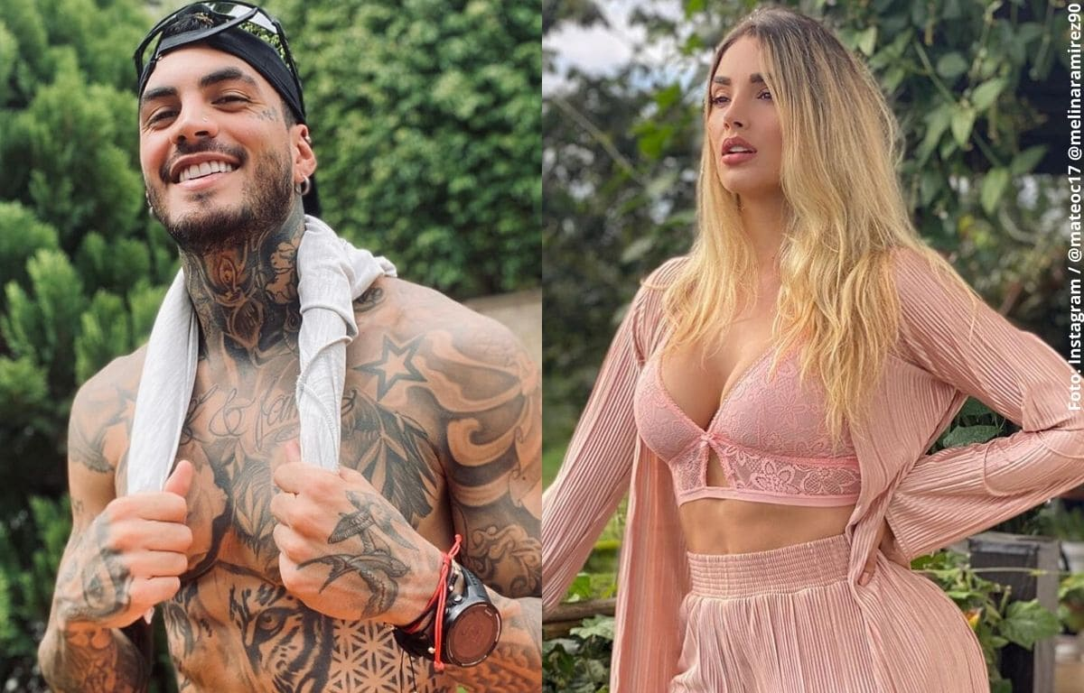 Mateo Carvajal revela cómo se lleva con Melina Ramírez