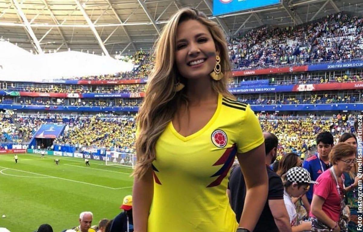 Melissa Martínez luce su curvifigura en ceñido body