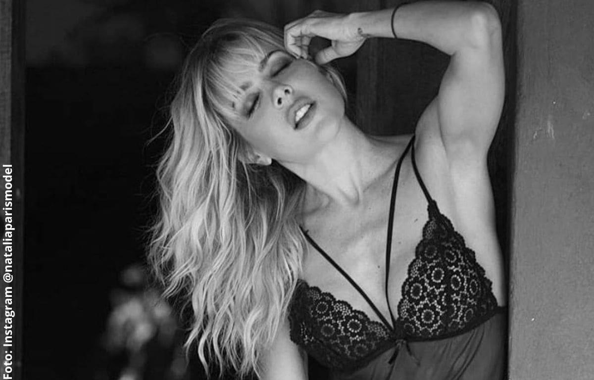 Natalia París encendió las redes con sexy baile