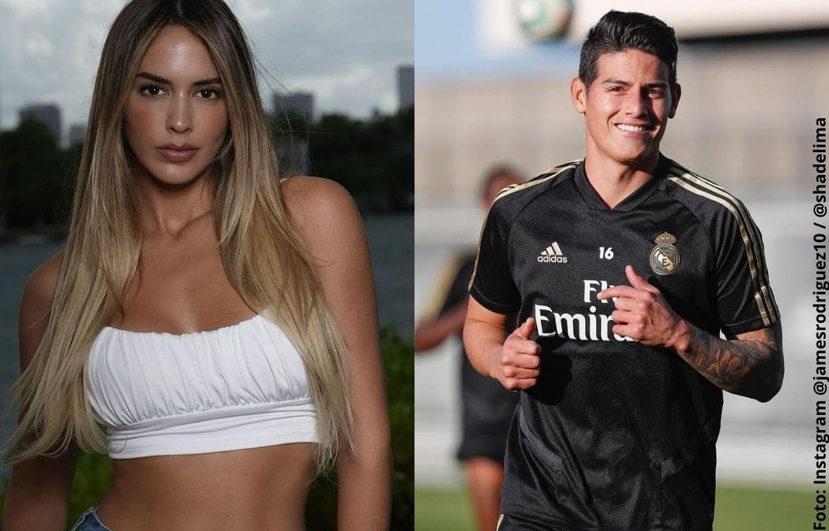 Shannon de Lima defiende su relación con James Rodríguez