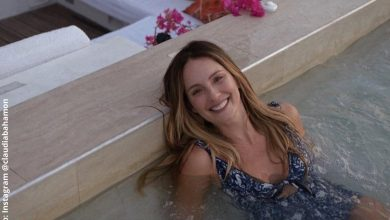 Claudia Bahamón enamoró con bronceado en bikini