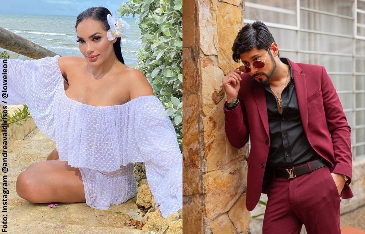 Con provocativo beso, Andrea Valdiri y su novio calentaron Instagram