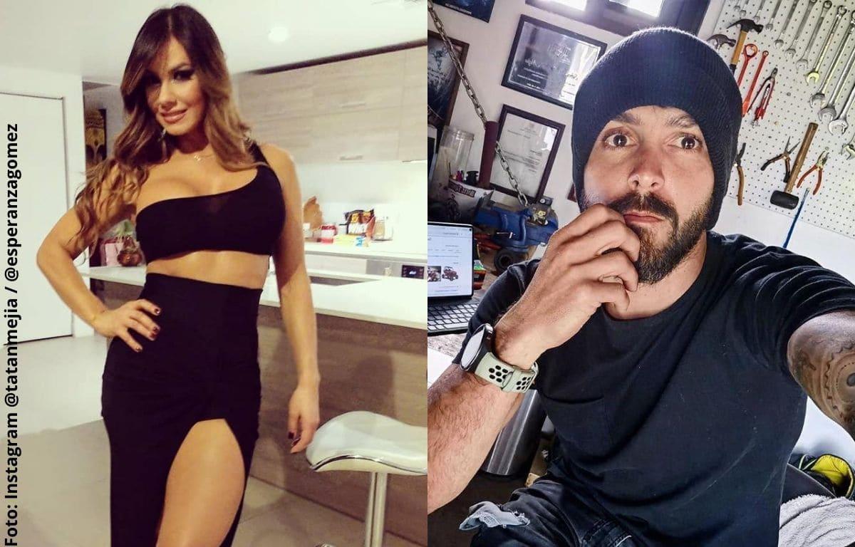 Divertida entrevista de Esperanza Gómez donde participó Tatán Mejía