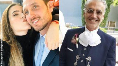 Hija de Alejandro Fernández se casó en plena pandemia
