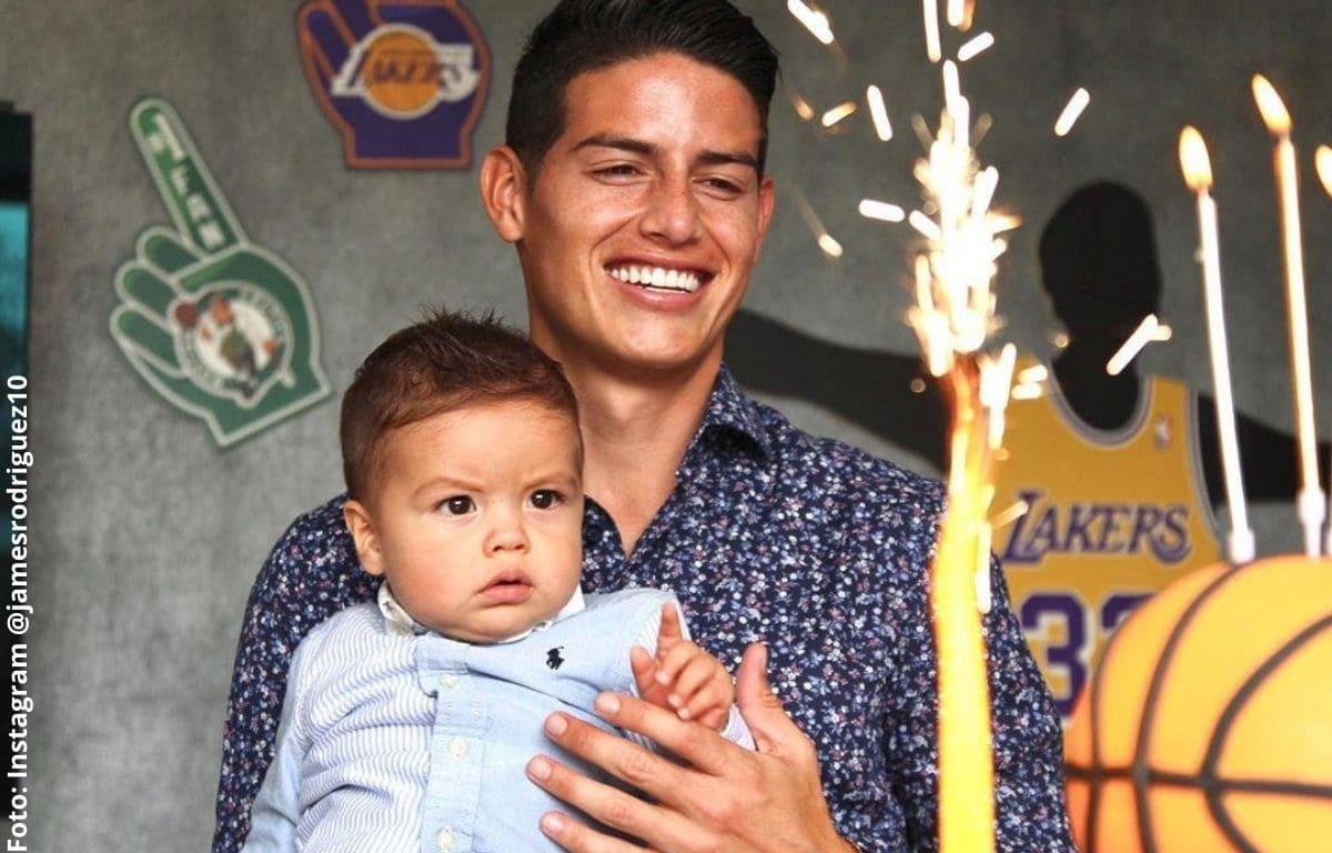 James Rodríguez habría confirmado quién es la mamá de su bebé