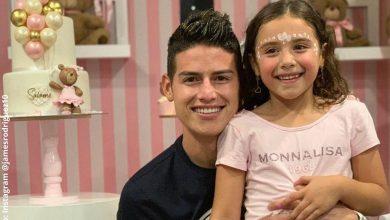 La cara de James Rodríguez al ver a su hija bailar reguetón