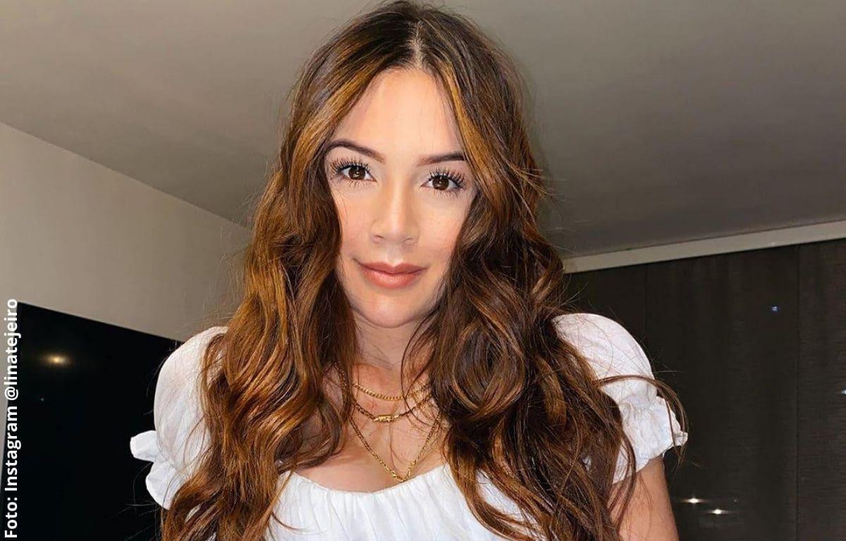 Lina Tejeiro presume su nueva y lujosa casota