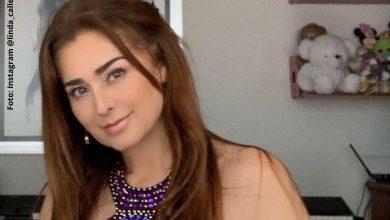 Linda Lucía Callejas chicaneó su belleza con pícaro gesto