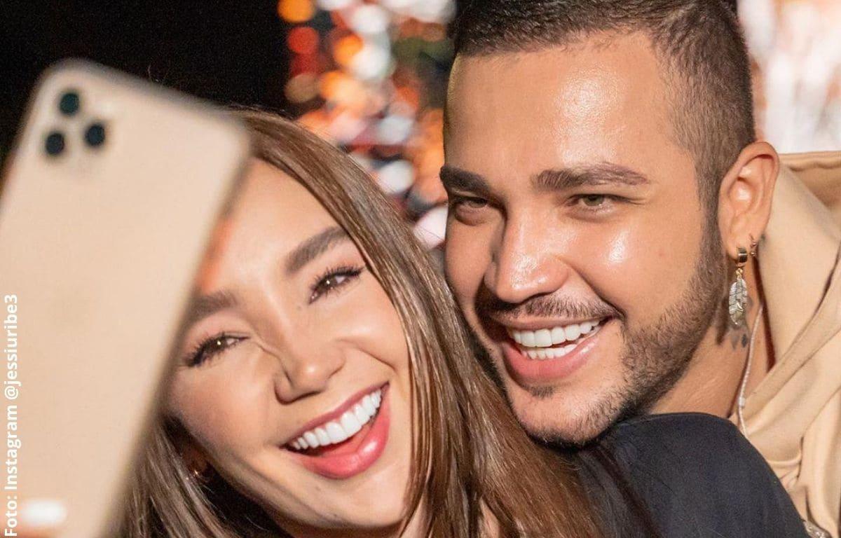 Paola Jara sorprendió a Jessi Uribe con romántica cena