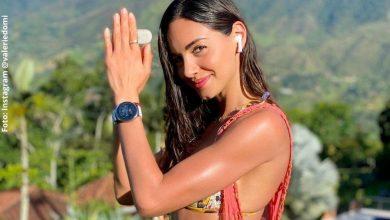 Valerie Domínguez posó con apretado bikini y enamoró