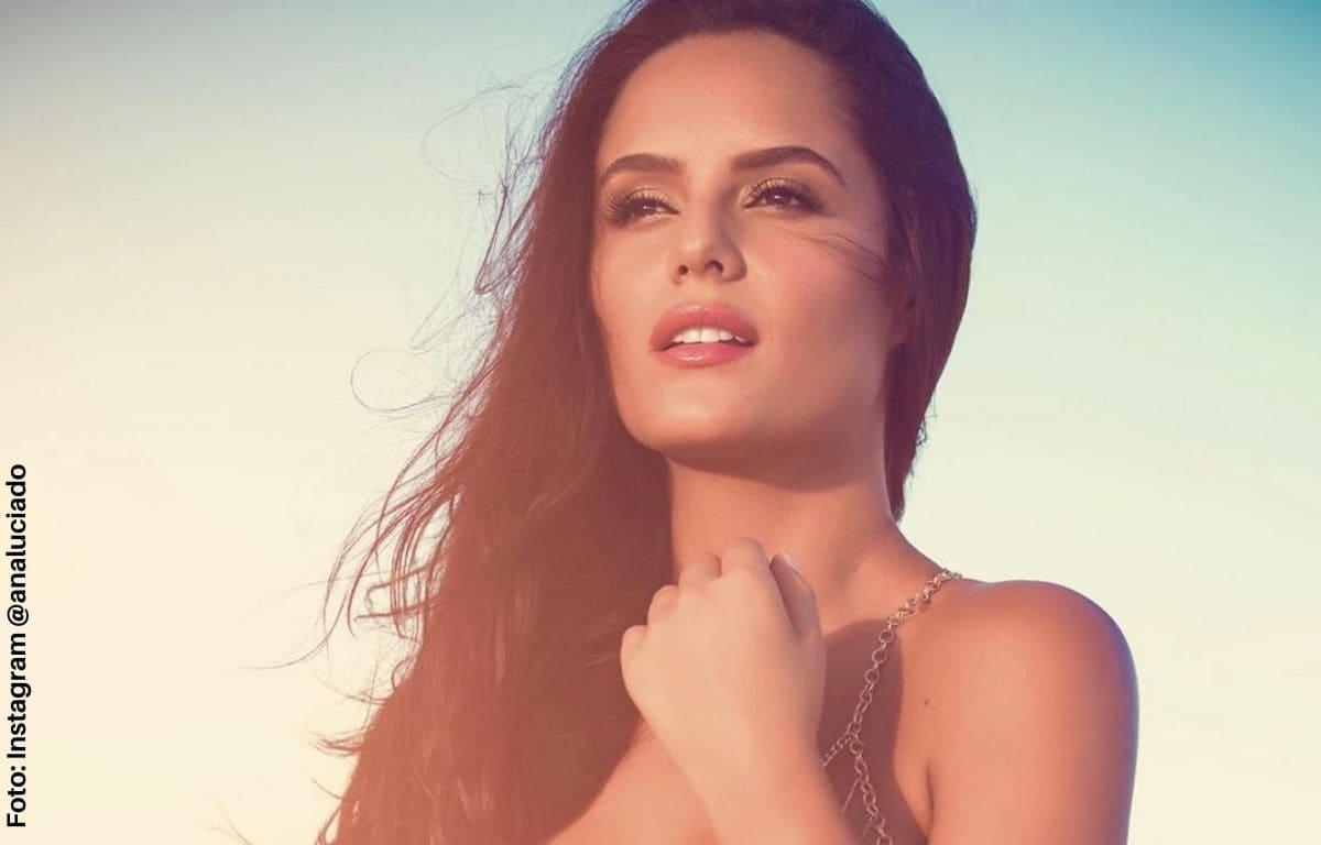 ¡Ay, Dios mío! Ana Lucía Domínguez se contoneo con atrevido bikini