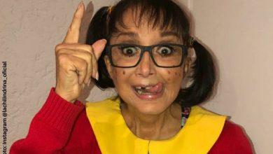 """'La Chilindrina' reveló """"la miseria"""" que ganaba en 'El Chavo del 8'"""