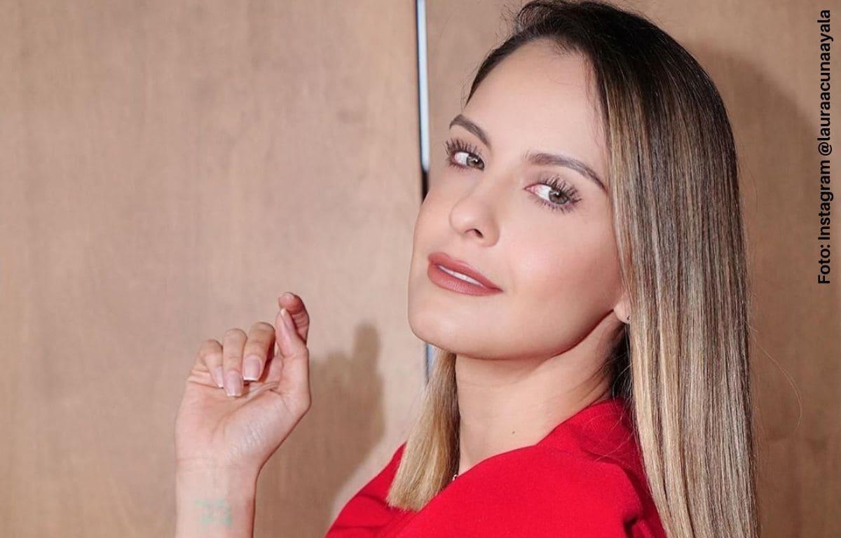 """Laura Acuña se vio """"gordita"""" en TV y se rumora un embarazo"""