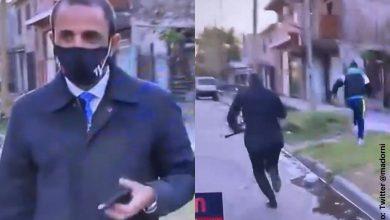 A Periodista le robaron el celular cuando hablaba de inseguridad